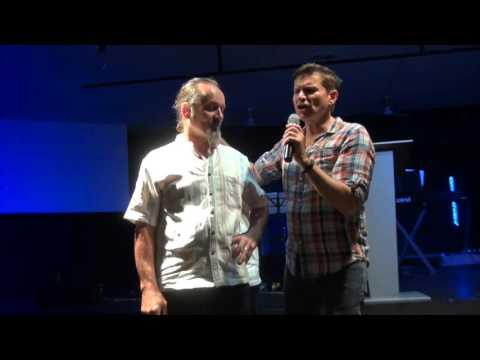 Eye floaters blurred vision healed during prayer - John Mellor Healing Ministry