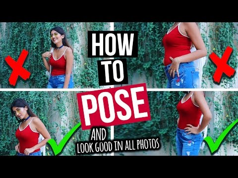 HOW TO POSE & LOOK GOOD IN EVERY PICTURE | INSTAGRAM HACKS | Larissa Dsa