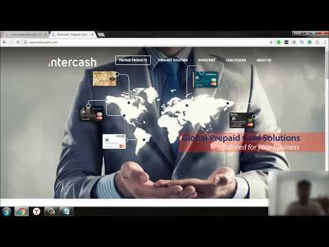 intercash Prepaid MasterCard || Activation || 2017