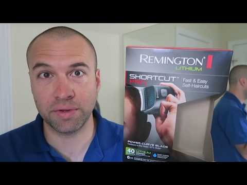 Remington HC4250 Shortcut Pro Demo: Zero Guard Buzz Cut, Receding Hairline
