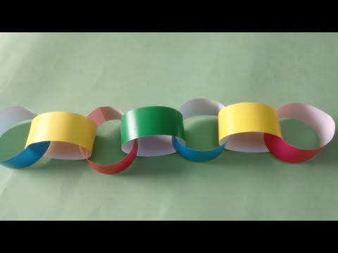 Making a Paper Chain (Book C/ Page 56)
