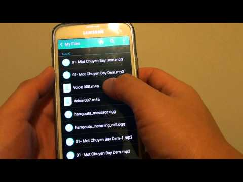 Samsung Galaxy S5: How to Delete Unwanted Files