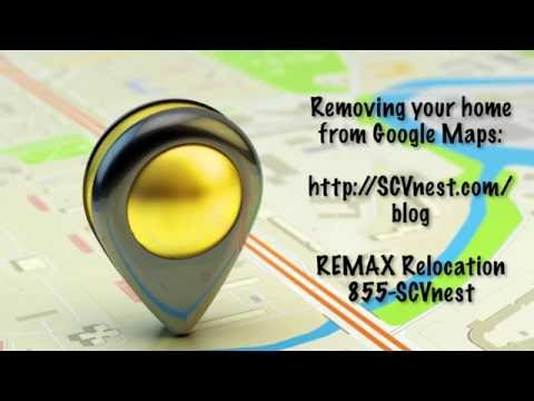 How to remove your home image from Google Maps