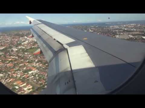 Fly Jetstar, Hobart to Sydney (Airbus A320)