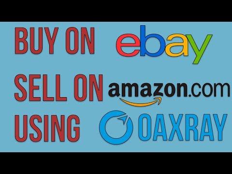 Ebay Used Flips for Amazon using Oaxray