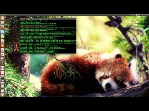 Ubun Linux--Instalação do google chrome no UBUNTU 14.04