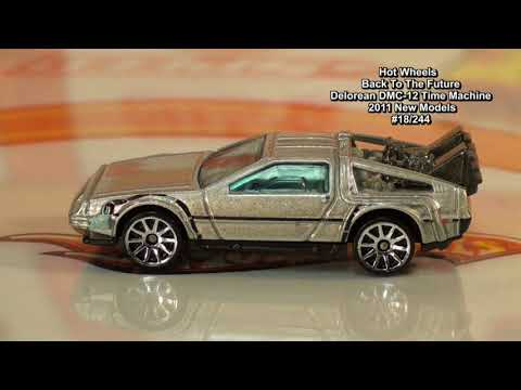 HotWheelz 4 U YouTube Toy Channel Is Here! DMC-12 Back To The Future Hot Wheels