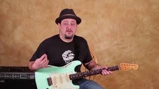 Learn this Classic Easy Blues Guitar Intro