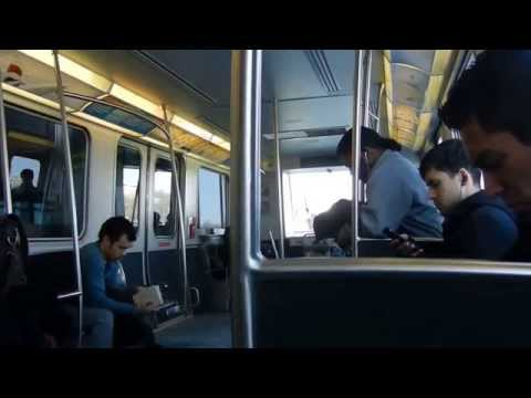How to get to Downtown, Manhattan form JFK Terminal8 with airtrain and subway