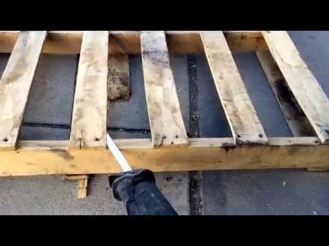 How to Use Free Pallets for Lumber and DIY Projects