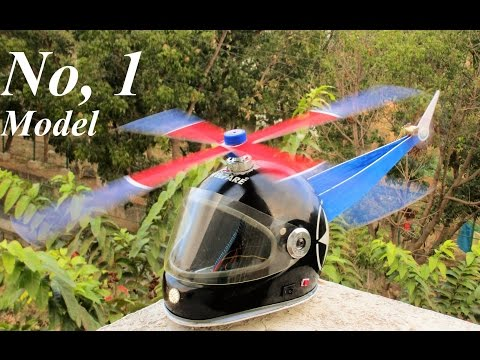 How to make a Helicopter - Helmet Helicopter