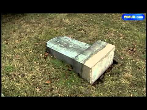 Fixing broken gravestones may be difficult