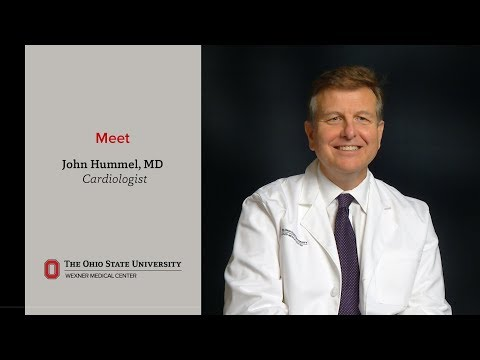 Meet heart rhythm specialist John Hummel | Ohio State Medical Center