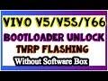 Vivo V5 V5s Y66 Bootloader Unlock Twrp Flashing  Full Guide