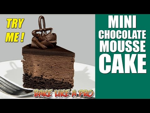 Mini Chocolate Mousse Cake Recipe
