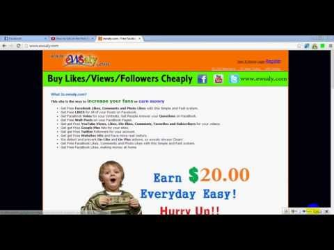 Get Free FaceBook Likes, Comments and Photo Likes with this Simple and Fast system.