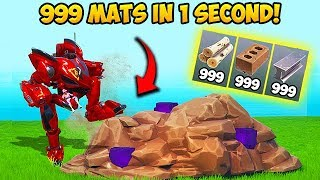 Download *SUPER OP* 999 MATS IN 1 SECOND!! – Fortnite Funny Fails and WTF Moments! #648 Video