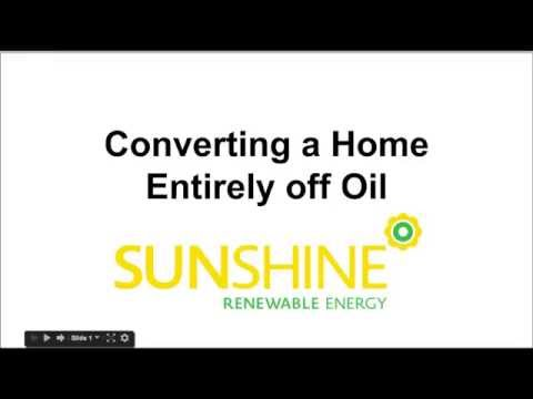 Convert your Oil Heating Home to 100% Electric