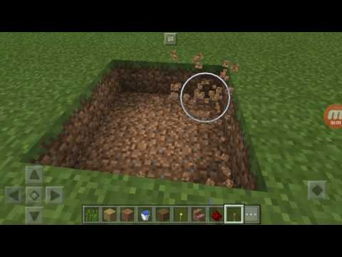How to make a human cannon minecraft pe