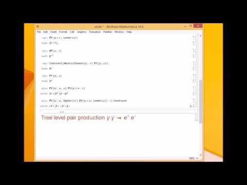 Mathematica For Physics 3-3 - FeynCalc Basics
