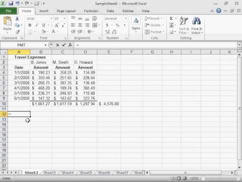 Calculate the Number of Days between Two Dates - Excel 2010