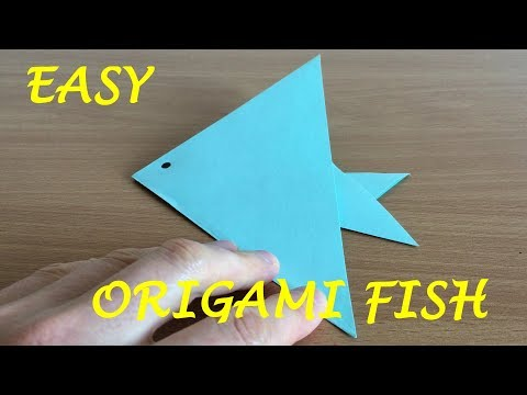 How to Make an Easy Origami Fish
