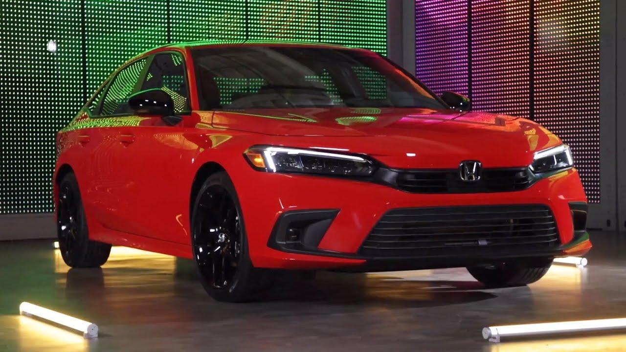 All-New 2022 Honda Civic Sedan Walkaround