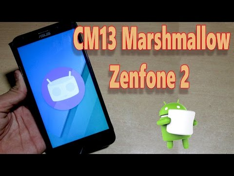 Asus Zenfone 2 : How to Install Official CyanogenMod 13 Android