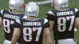 99 Overall Rob Gronkowski At Every Position Wtf Madden 16 Ultimate Te