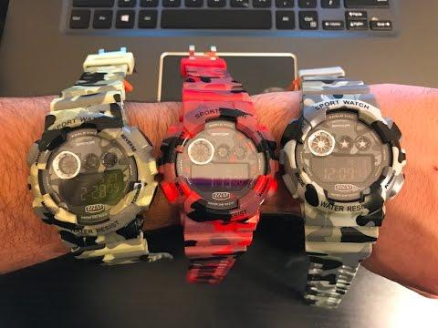 Sanda 289 Watch - Casio G-Shock replica