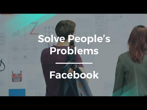 How to Solve People's Problems as a Product Manager by Facebook PM