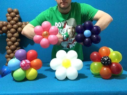 Bubble-Flower Balloon Bracelets