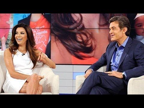 Eva Longoria Talks Post-Divorce Depression With Dr. Oz