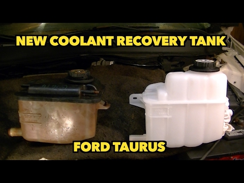 Ford Taurus Coolant Overflow Tank Recovery Bottle Replacement New. Bottle