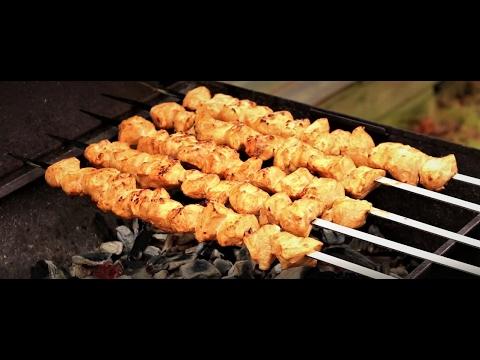 Turkish Chicken Kebab / kabab / kabob (Tavuk Şiş)