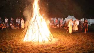 Antico Rito Cerimoniale Celtico di purificazione e accensione Fuoco Sacro