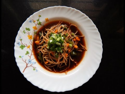 Quick Soupy Noodles Recipe in Microwave