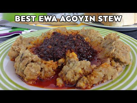 Ewa Agoyin Stew | Nigerian Food