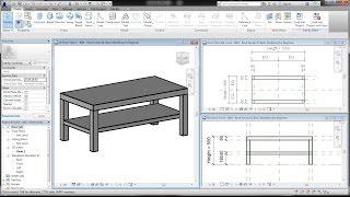 Bim - Revit Family 01 Basic Modeling Tutorial For Beginner