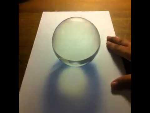 Genuine and fake crystal ball