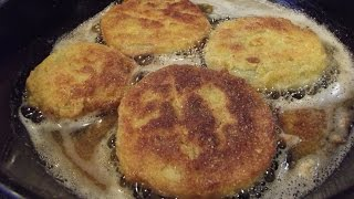 How To Make Fried Green Tomatoes - The Hillbilly Kitchen