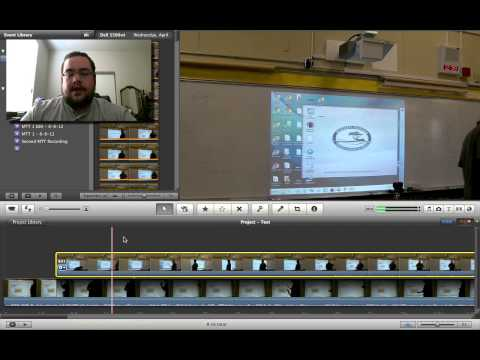 Multiple Cameras / Cutaway Shots in iMovie '11