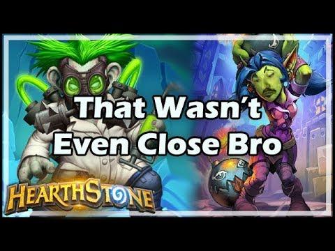 [Hearthstone] That Wasn't Even Close Bro