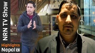 NRN TV Show Ep 70 | Report On Nepalese Lifestyle In Foreign Countries  | Rajan Ghimire