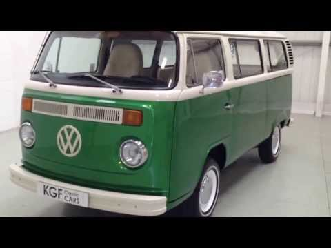 A Fabulous Bay Window T2 VW Camper Van Painstakingly Created for Splendid Fun Outings - SOLD!