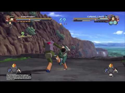 Naruto ultimate ninja storm 4 team Battle #3