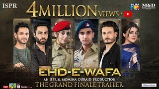 Ehd e Wafa Last Episode | Trailer Out Now