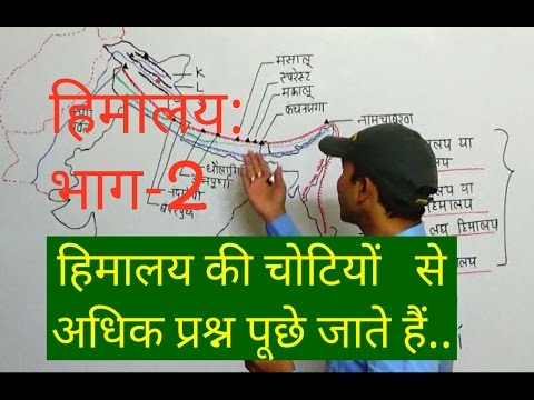 INDIAN GEOGRAPHY: CHAPTER: 6 HIMALAYA- PART: 2 वृहद् और ट्रांस(TRANS) हिमालय | FOR GOV JOBS PREP.