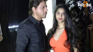 Shah Rukh Khan arrives with Suhana for opening of restaurant designed by Gauri Khan | Bolly2Box
