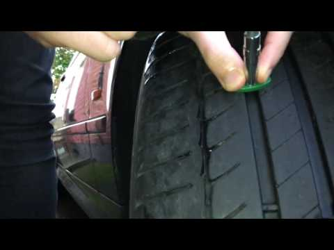 Check the tyre tread depth on your car for free
